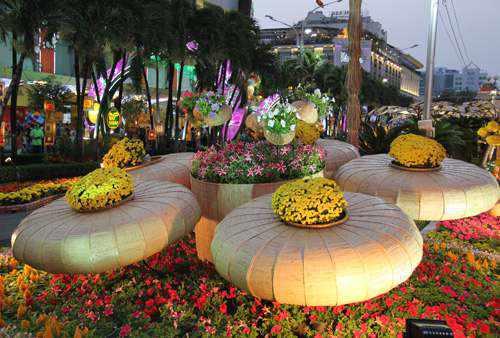 TP HCM thay đổi vị trí tổ chức đường hoa trong năm tới