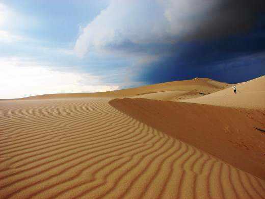 Đồi cát vàng - Mũi Né