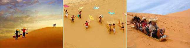Du lịch phan thiết đồi cát