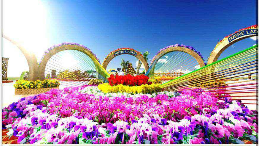 Du lịch Đà Nẵng tết 2015 khám phá đường hoa xuân 'Alice ở xứ sở thần tiên'