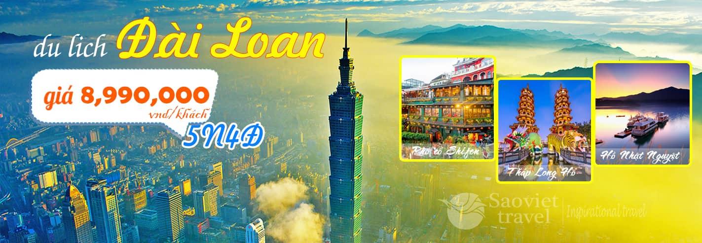 Du lịch Đài Loan - Chương trình tour du lịch Đài Loan 2018 giá hấp dẫn