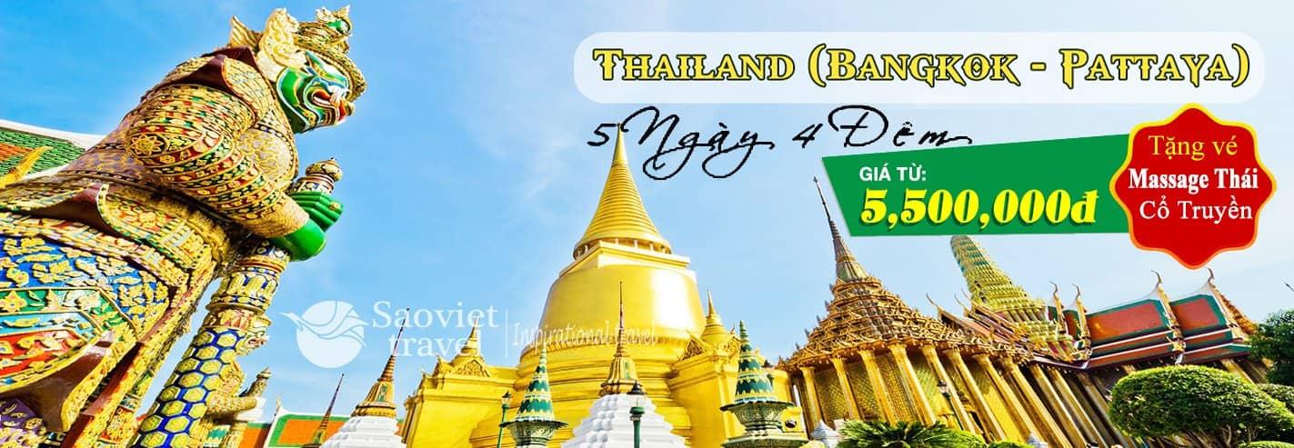 Du lịch Thái Lan - Tour du lịch Thái Lan 2018 hấp dẫn giá rẻ