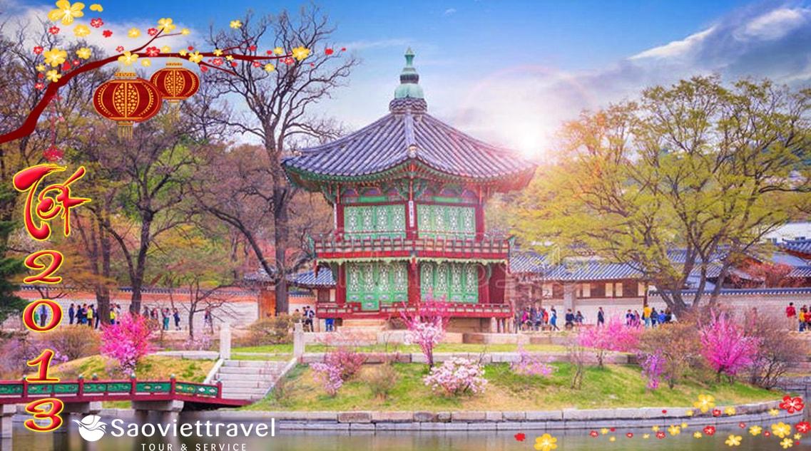 Du Lịch Hàn Quốc Tết 2013: Seoul – Jeju – Everland 6 Ngày 5 Đêm