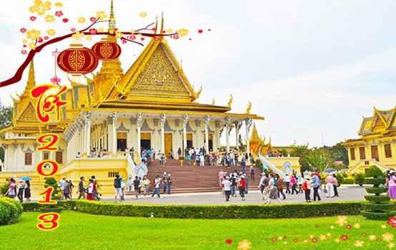 Du lịch Campuchia Phnom Penh – Siem Reap 4 Ngày 3 Đêm Tết âm lịch 2013