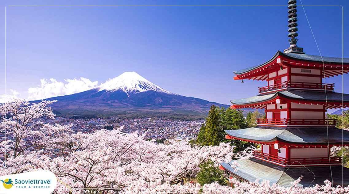Tour du lịch Nhật Bản 5 ngày 4 đêm giá tốt từ Sài Gòn