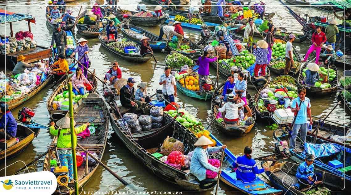 Du lịch Sài Gòn Cần Thơ 3 Ngày 2 Đêm từ Hà Nội