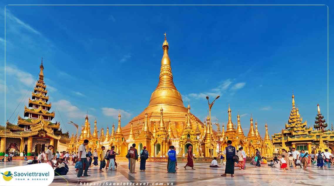 Du lịch Myanmar: TP.HCM – Yangon – Kyaikhtiyo – Bago 4 Ngày 3 Đêm