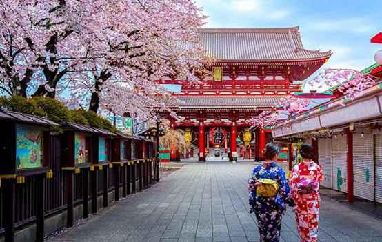 Du Lịch Nhật Bản – Tokyo – Disneyland – Kawaguchi – Núi Phú Sỹ – Kyoto – Osaka 7 Ngày 6 Đêm
