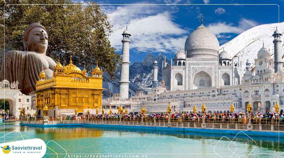 Du lịch Ấn Độ Hành hương về đất Phật 10 ngày từ Hà Nội