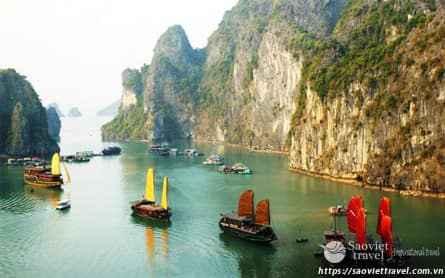 Du lịch TP HCM – Hà Nội – Vịnh Hạ Long 2N1Đ