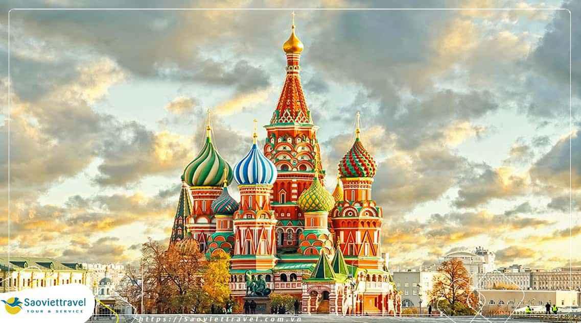 Du lịch Nga – Matxcova – Saint Petersburg – Hà nội 7 ngày từ Hà Nội