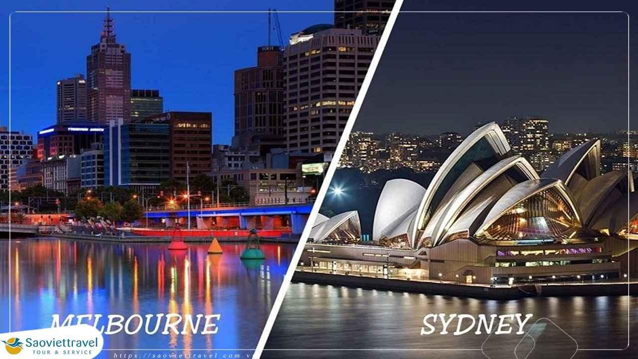 Du Lịch Úc Hà Nội – Sydney – Blue Mountian – Great Ocean Road – Ballarat – Hà Nội 8 Ngày