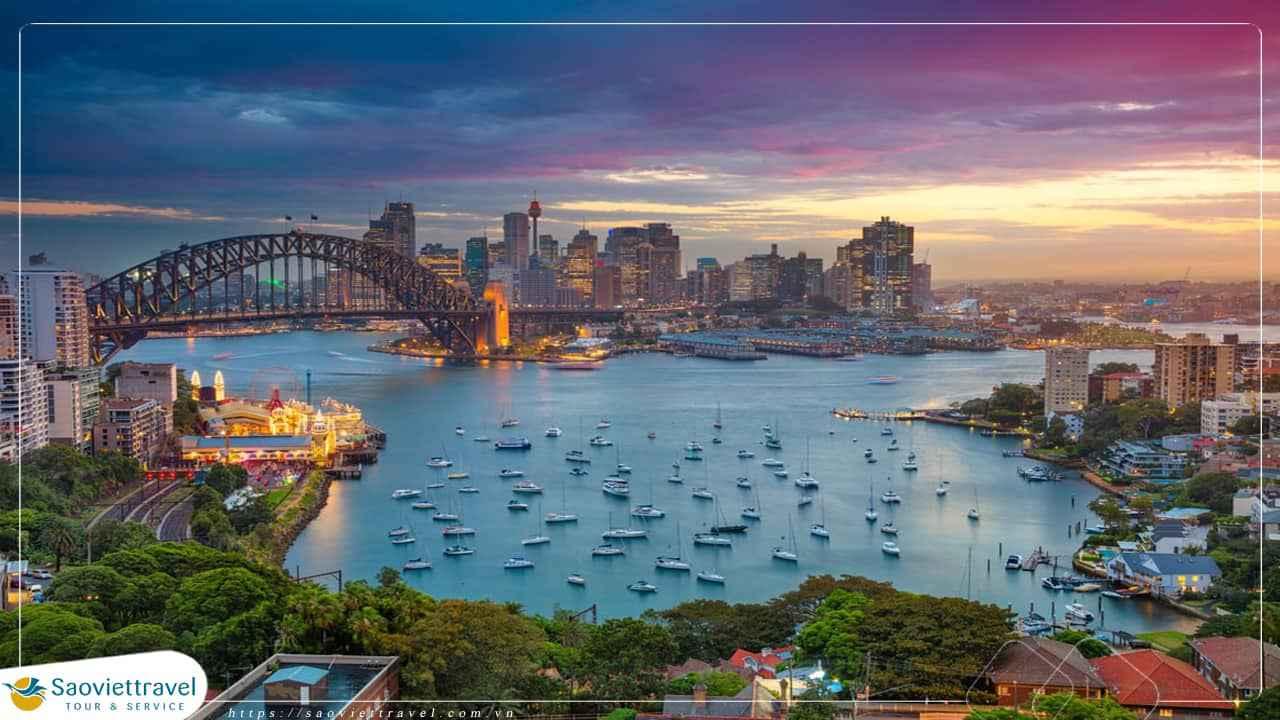 Du Lịch Úc Hà Nội – Sydney – Canberra – Melbourne – Hà Nội 7 Ngày