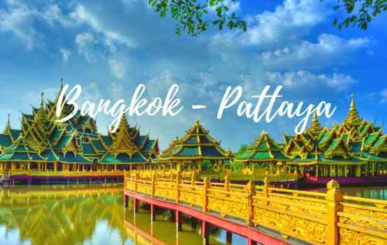 Tour Du Lịch Thái Lan 5 Ngày 4 Đêm Bangkok – Pattaya từ Hà Nội giá tốt