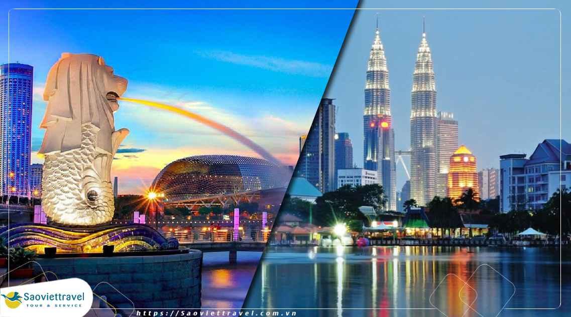 Du lịch Malaysia – Singapore 7 ngày 6 đêm khởi hành từ TP.HCM