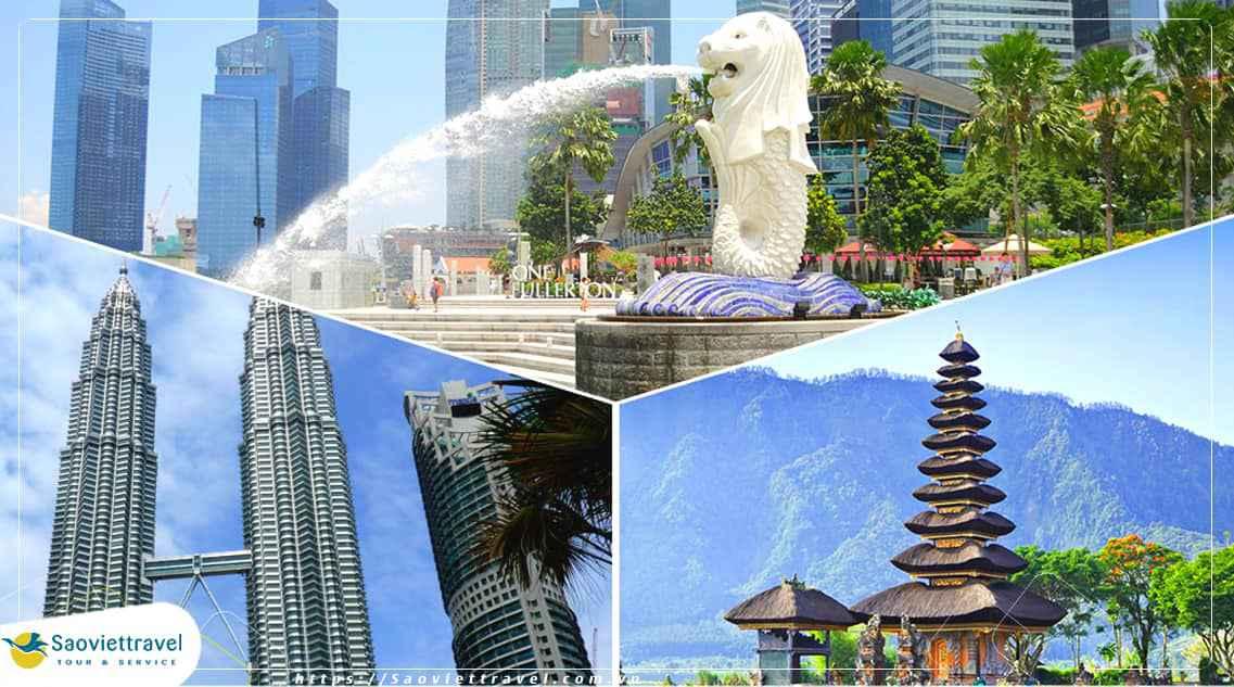 Tour Singapore – Malaysia – Indonesia 7 ngày 6 đêm từ Hà Nội