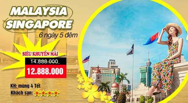 Du lịch Singapore – Malaysia – Indonesia Tết Ất Mùi 2015 giá tốt – CT Đặc Sắc