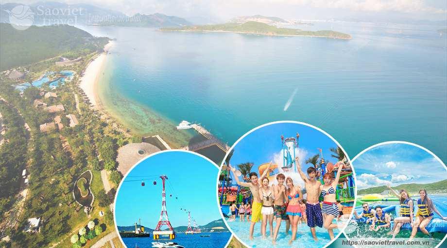 Du lịch Nha Trang 4 Ngày 3 Đêm khởi hành từ Sài Gòn giá tiết kiệm 2020