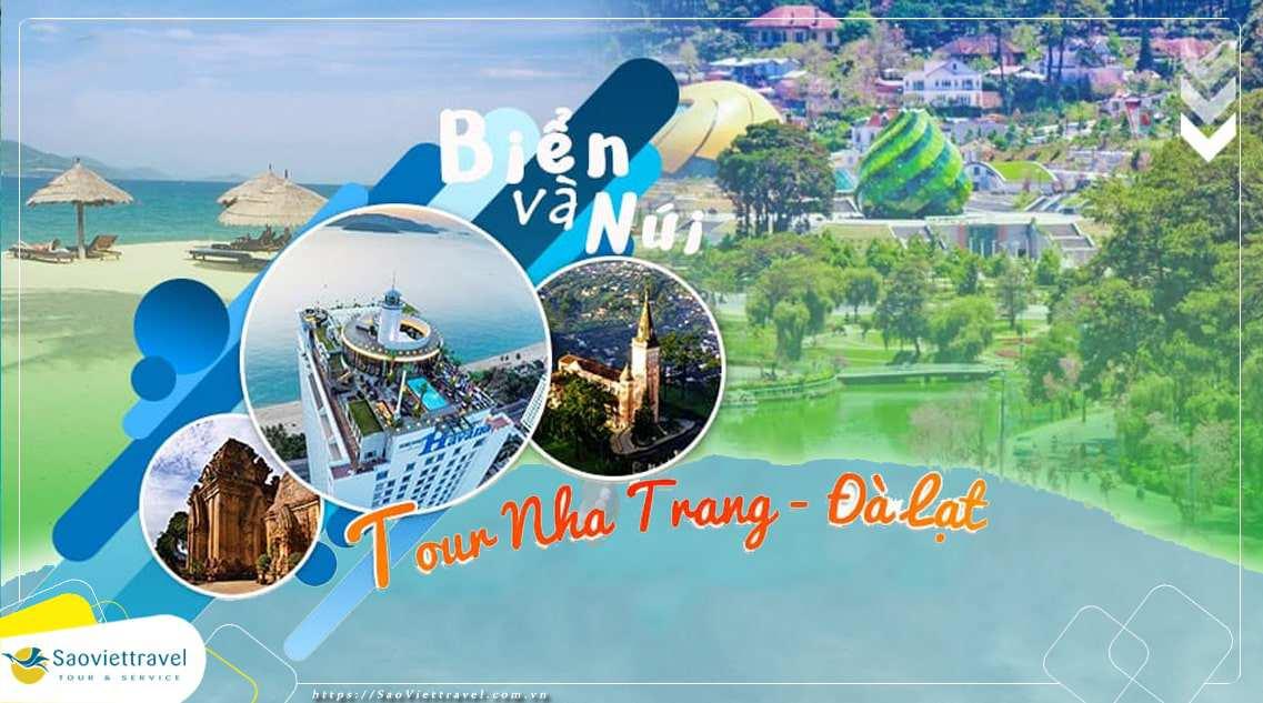 Du Lịch Nha Trang – Đà Lạt 5 ngày 4 đêm khởi hành từ Sài Gòn giá tốt