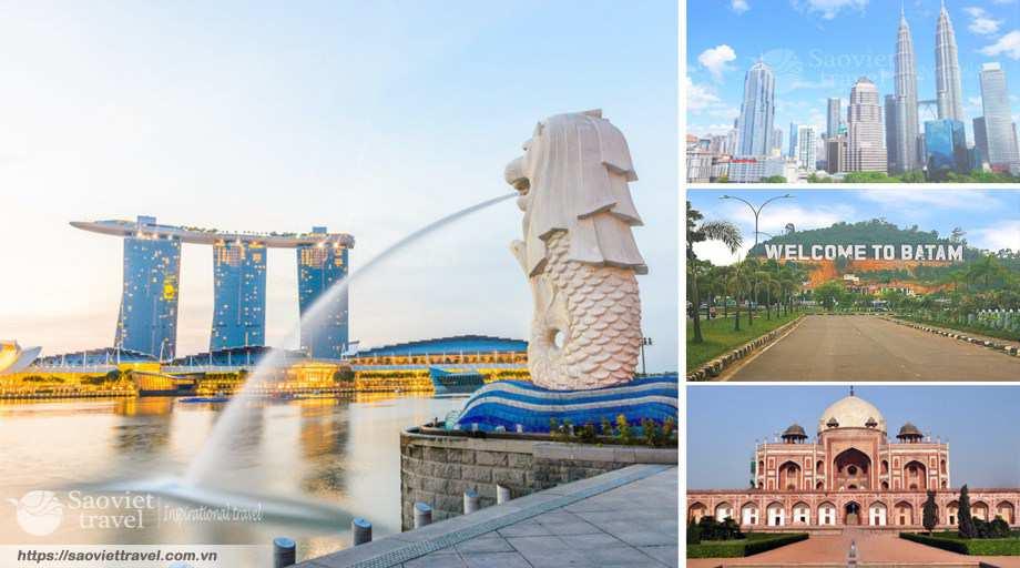 Du Lịch Singapore – Malaysia – Indonesia 7N6Đ – Đặc Sắc Ngủ Đêm Genting