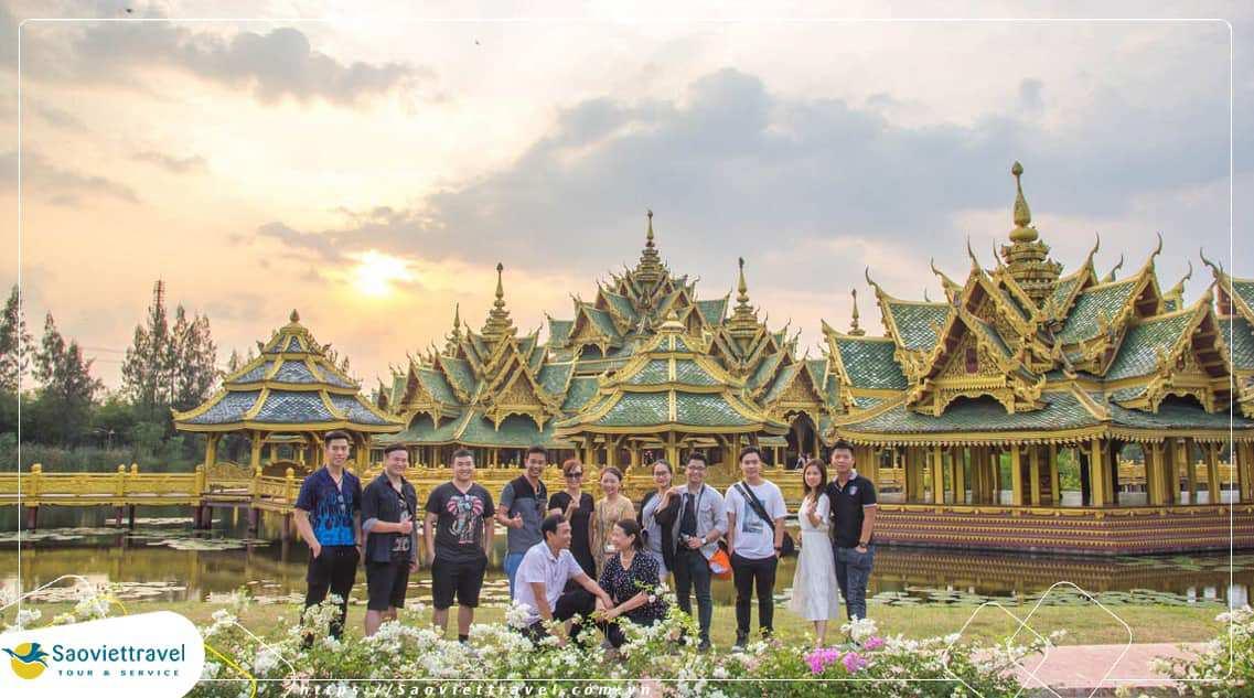 Du lịch Thái Lan 5 ngày 4 đêm – Lâu Đài Gỗ – Thái Lan Thu Nhỏ