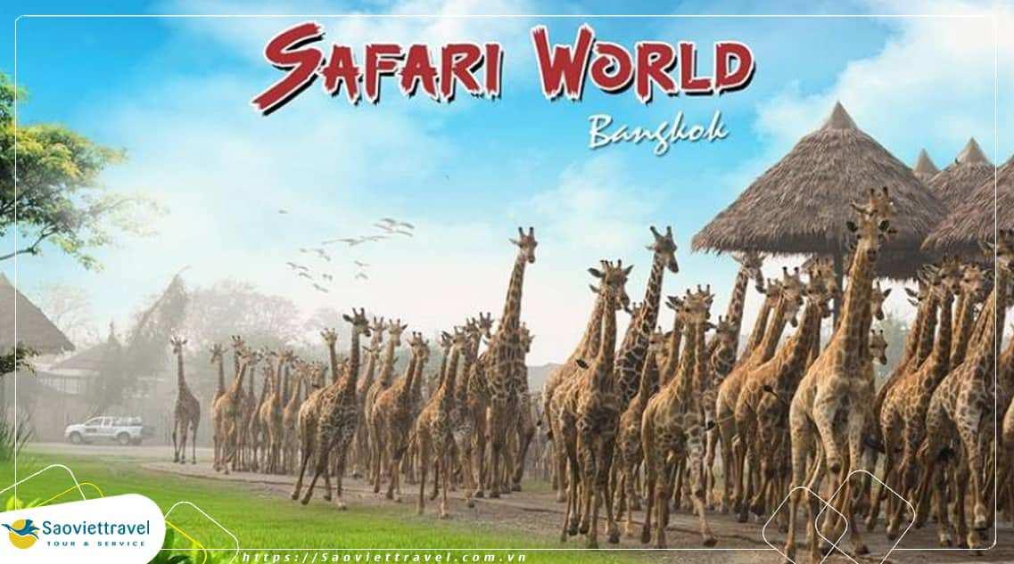 Du Lịch Thái Lan – Bangkok – Safari World – Cưỡi Voi – 6 Ngày 5 Đêm