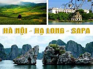Du Lịch Sài Gòn – City Hà Nội – Sapa – Vịnh Hạ Long – 5 ngày 4 đêm