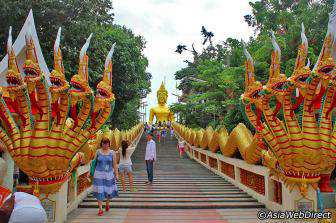 Wat Phra Yai - Đồi Phật Lớn