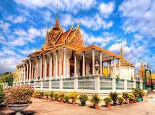 Tour du lịch Campuchia – Siem Riep – Phompenh – Chùa Vàng – Chùa Bạc