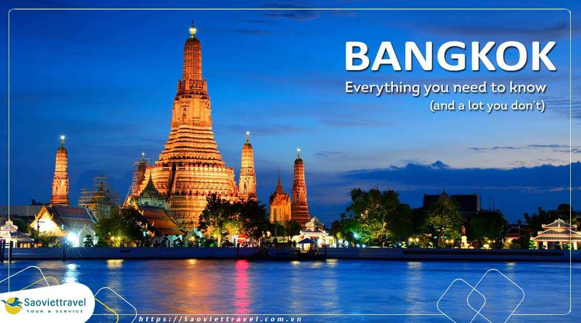 Du Lịch Thái Lan – Bangkok – Safari World – Pattaya – 5 Ngày 4 Đêm từ Hà Nội