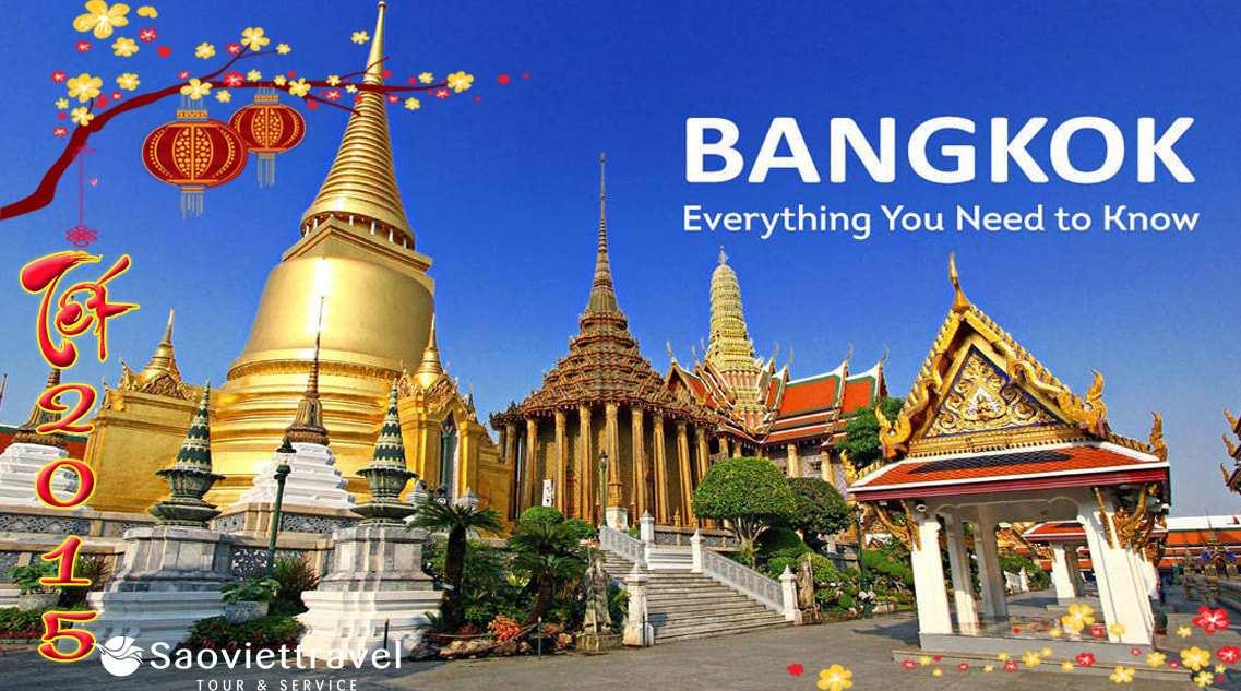 Du Lịch Thái Lan Dip Tết Âm Lịch Ất Mùi 2015 giá tốt từ Sài Gòn  – VIP 4 Sao