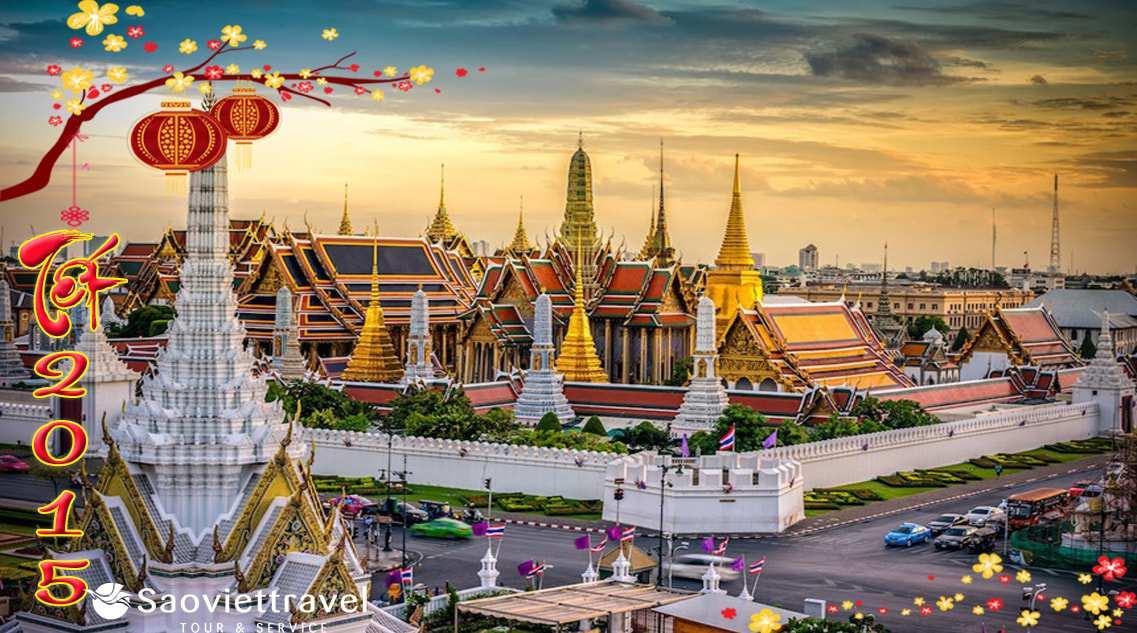 Du Lịch Thái Lan Tết 2015 Giá Tốt – Hà Nội – Bangkok – Pattaya – 5 Ngày 4 Đêm