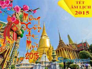 Du Lịch Thái Lan Dip Tết Âm Lịch Ất Mùi 2015 Giá Tốt – VIP 4 Sao