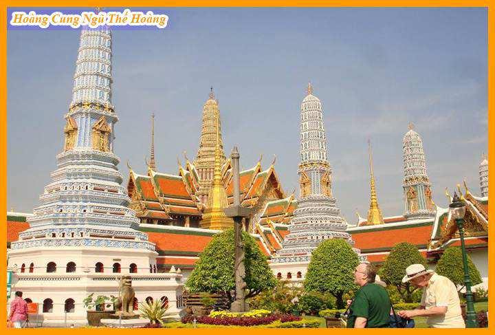 Du Lịch Thái Lan Hoàng Cung Ngũ Thế Hoàng