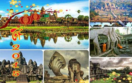 Du lịch Campuchia 4 ngày 3 đêm dịp tết âm lịch 2015 giá tốt từ Sài Gòn