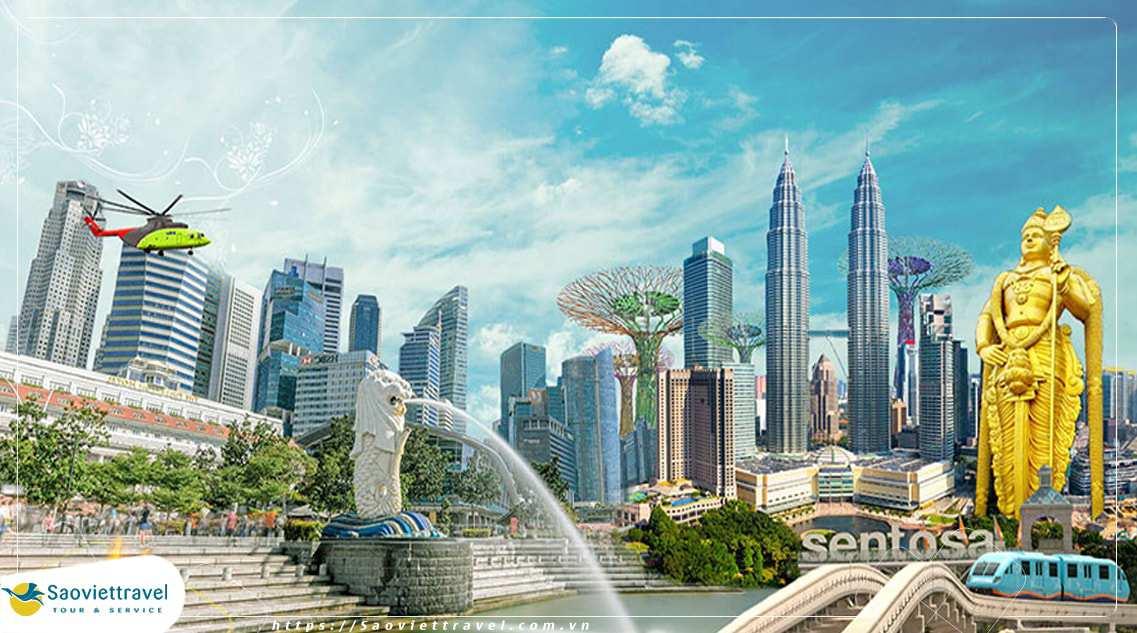 Du lịch Singapore – Malaysia – Đặc Sắc Nhạc Nước 6N5Đ – HOT, tri ân khách hàng