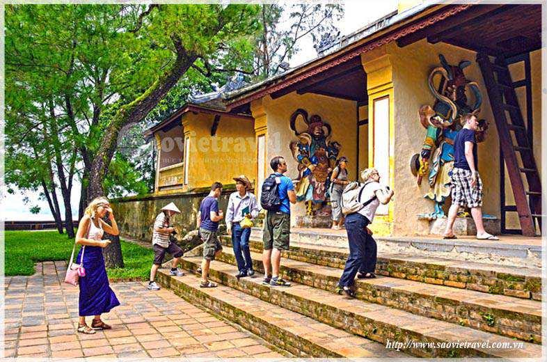 Du lịch Huế - Chùa Thiên Mụ