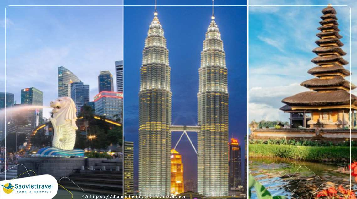 Du lịch Malaysia – Singapore – Indonesia- Siêu tiết kiệm – Khởi hành từ Hà Nội