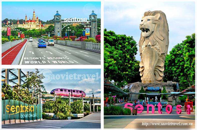 Du lịch Singapore - Đảo Sentosa