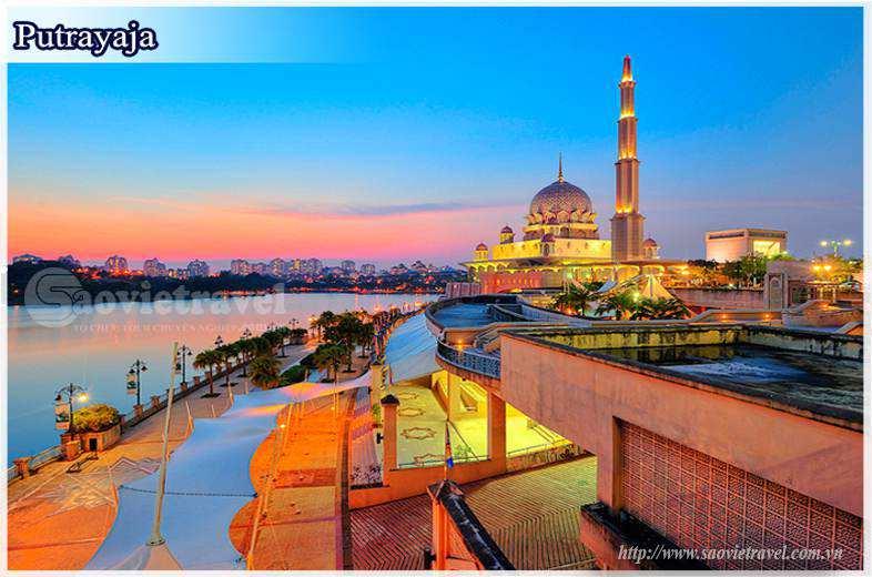 Du lịch Malaysia Putrajaya