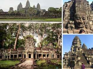 Du lịch Campuchia – Phnom Penh – Siêm Riệp – Hè 2015 từ Sài Gòn