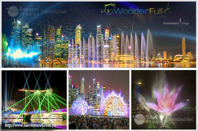 Du lịch Singapore - Wonder Full Show