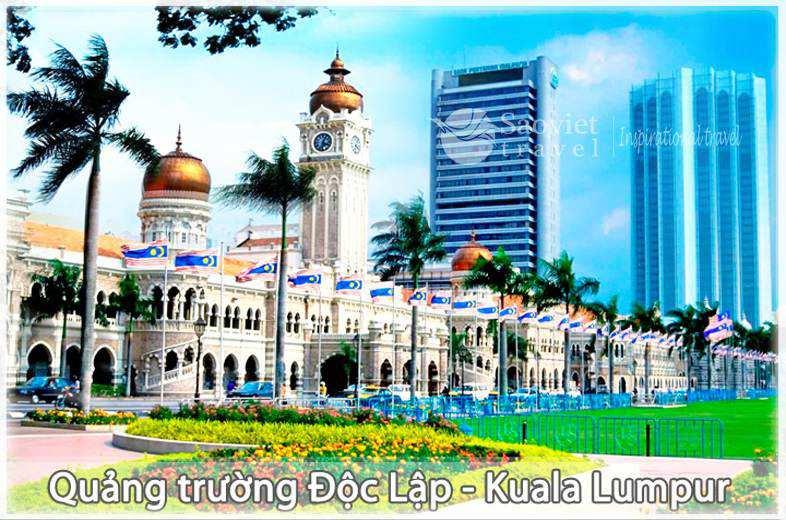 Du lịch Malaysia - Quảng Trường Độc Lập