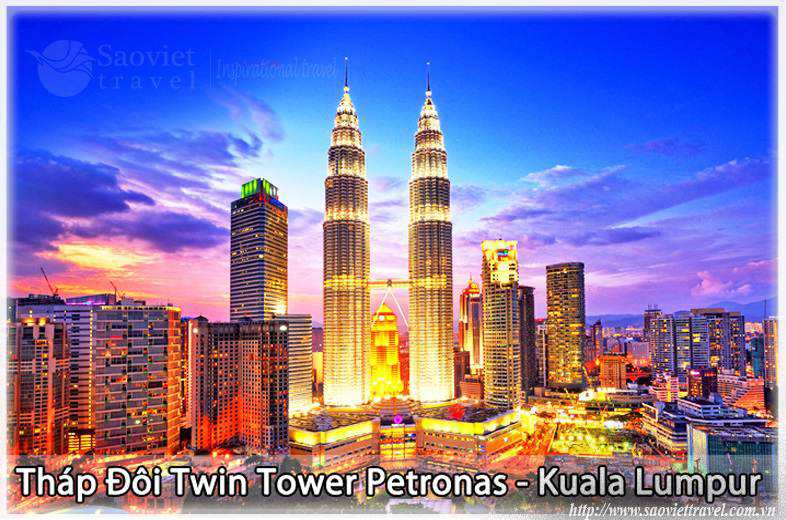 Du lịch Malaysia - Tháp đôi Twin Tower