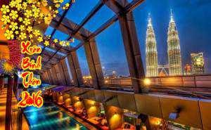 Du lịch Singapore Malaysia Indonesia – Tết Nguyên Đán  Bính Thân 2016 giá tốt