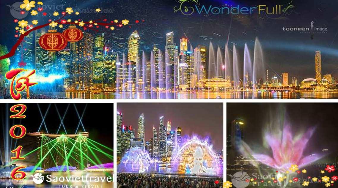 Du lịch Singapore Malaysia Indonesia 5 ngày dịp tết Nguyên Đán  Bính Thân 2016 giá tốt
