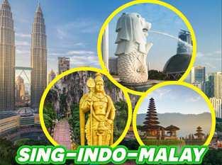 Du lịch Singapore – Malaysia – Indonesia – giá tốt từ TP.HCM dịp lễ 2/9