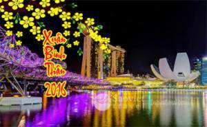 Du lịch Singapore Tết Bính Thân 2016 giá tốt
