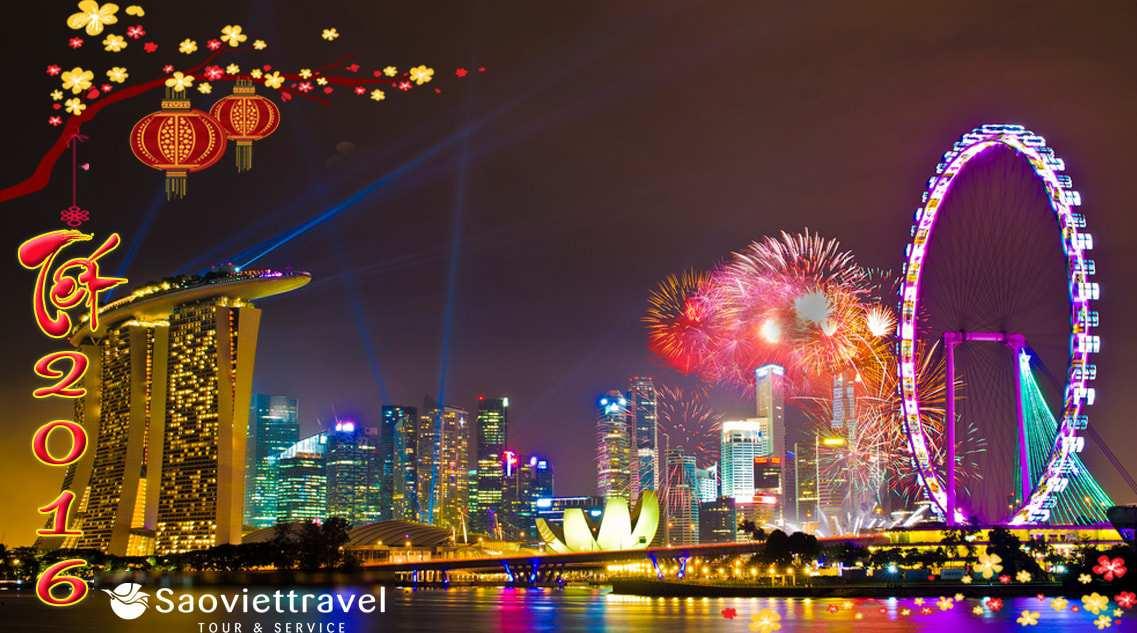 Du lịch Singapore 4 ngày 3 đêm dịp tết Bính Thân 2016 giá tốt