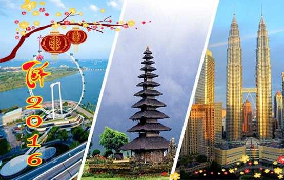 Tour Singapore Malaysia Indonesia – Tết 2016 giá tốt nhất từ Sài Gòn – KS 4 & 5 sao